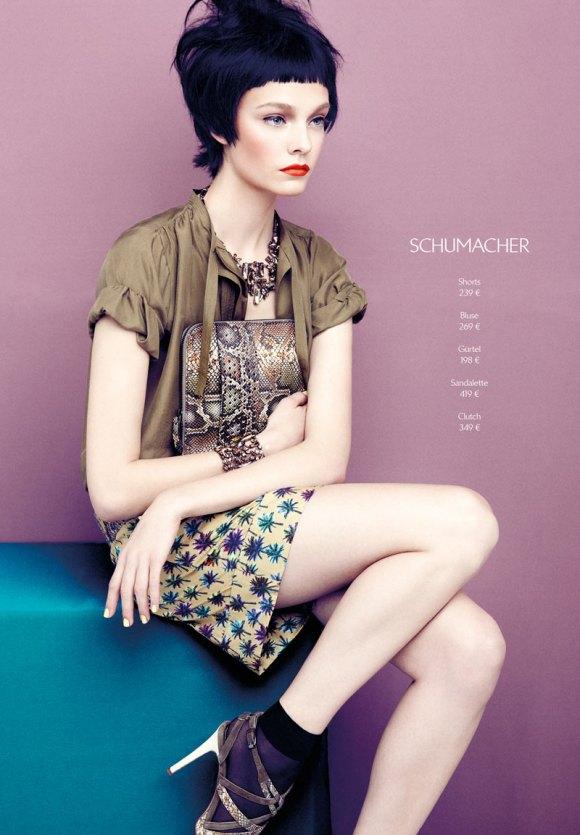 Nimue Smit para Apropos Journal primavera/verão 2013