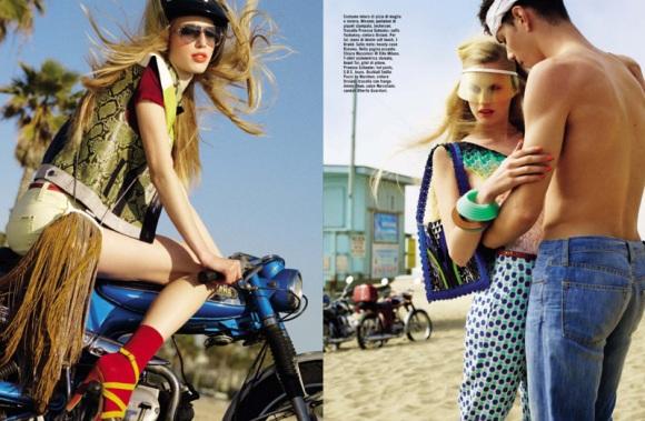por KT Auleta para a Vogue Itália maio 2013