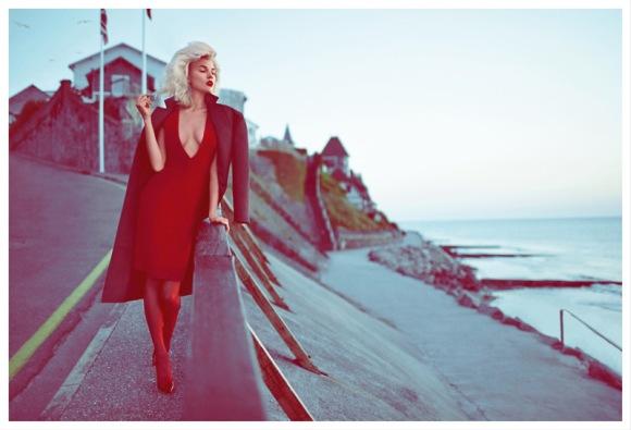 Britt Maren por Koray Birand para a Elle Rússia setembro 2013